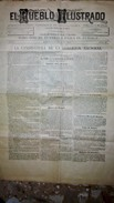 EL PUEBLO ILUSTRADO. Madrid 1885. Número 25. Interior Candidatura De La Coalicion Nacional - Revistas & Periódicos