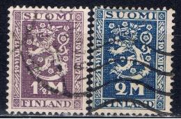 SF+ Finnland 1927 Mi 126-27 Staatsgründung