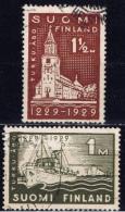 SF+ Finnland 1929 Mi 140-41 Turku