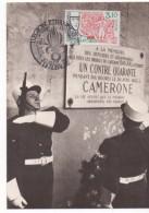 3095  Maxima Legion Etrangere, Legión Extranjera, Francia, 1984 - Cartas Máxima