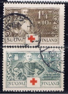 SF+ Finnland 1934 Mi 184 186 Kriegshelden