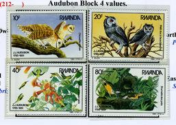 1985 - RWANDA - Catg.. Mi. 1310/1315 - NH - (AD85348.SI50.23) - Rwanda