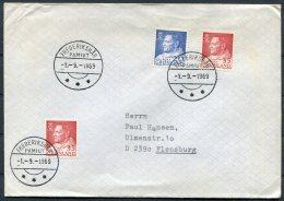 1969  Greenland Cover Frederikshab Pamiut - Greenland