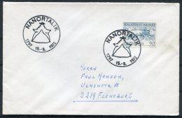 1972 Greenland Cover. Slania Nanortalik - Groenland