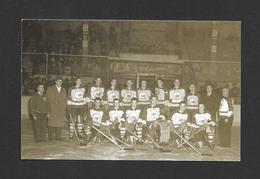 SPORTS - HOCKEY - CLUB DE HOCKEY LES CITADELLES DE QUÉBEC - JACQUES PLANTE GARDIEN DE BUT PHOTO 1947 - Sports D'hiver