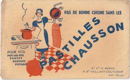 Buvard Ancien: PAS DE BONNE CUISINE SANS LES PASTILLES CHAUSSON -pot-au-feu-sauces-ragoûts-potages - Soups & Sauces