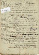 VP6653 - Acte De 1830 - Obligation Par DUFOUR à CHAUVET Aux BATIGNOLLES MONCEAUX - Papeterie De GUEURES - Manuscrits