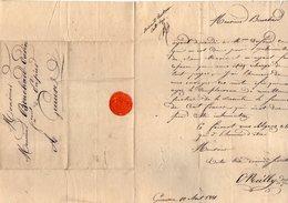 VP6655 - Lettre De Mr O NEILLY à PARIS Pour Mr BOUCHARD - OUDIN à GUEURES - Manuscrits