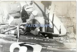 63089 ARGENTINA AUTOMOBILE CAR RUNNER LUIS DI PALMA 18 X 12 CM PHOTO NO POSTAL POSTCARD - Ansichtskarten