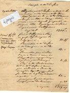 VP6660 - Comptes De Mme DUFOUR à GUEURES & LAGNY ( France ) - Manuscrits