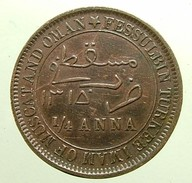 Oman  - 1/4 Anna - 1315 - Fessulbin  Turkee Imam Of Muscat And Oman - - Oman