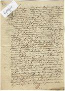 VP6663 - DIEPPE - Acte De 1831 - Entre Mr BOURDON & DUFOUR Bail D'un Pavillon & Dépendance Situé à GUEURES - Manuscrits