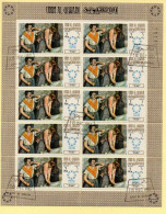 Bloc Feuillet - E. DEGAS - THE IRONERS - Kunst