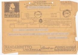 TELEGRAMMA Con Pubblicità  Del   7 Ottobre 1935  (160611) - Partecipazioni