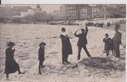 """44 LOIRE ATLANTIQUE NANTES""""  Les Glaces En Loire On Circule Librement Et A Pied Sec Sur Le F Janvier 1914 """"  Nozais N°46 - Nantes"""
