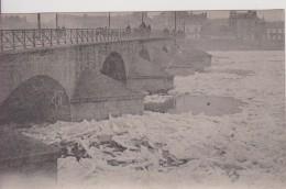 """44 LOIRE ATLANTIQUE NANTES""""  Les Glaces En Loire Le Pont De La Madeleine Janvier 1914""""  Nozais N°13 - Nantes"""