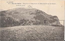 AIX LES BAINS - Vue Prise De L'Observatoire Du Mont-Revard Sur Les Chalets - Le Nivolet - Aix Les Bains