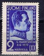 SF+ Finnland 1937 Mi 203 Mannerheim