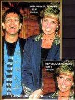 Porträt Diana Im Konzert 1997 Niger A1436+ Block D 111 ** 14€ Lady Di Hb Blocs M/s Flower Princess Of Wales Sheets Bf UK