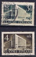 SF+ Finnland 1938 1939 Mi 213-16 221 Post