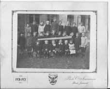 1920-1921 Mareuil Sur Ay Photo De Classe Photo Compagnie Américaine The American Wilson Photo 1 Photo 14-18 Ww1 Wk1 - War, Military