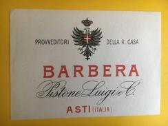 2646 - Italie Barbera Pistone Luigi Asti Ancienne étiquette - Autres