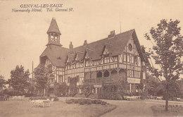 Genval-les-Eaux - Normandy Hôtel (animation,1925) - Rixensart