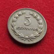 El Salvador 5 Centavos 1967 KM# 134 - Salvador