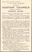 Devotie - Doodsprentje - Gustaaf Cauwels - Eeklo 1898 - 1951 - Décès