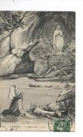 65 LOURDES N° 237 : L'apparition / CPA LL Voyagée/ Provenant D'un Carnet / état Moyen Soldée !! - Lourdes
