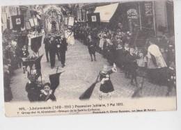 HAL JUBELPROCESSIE 1910 - Manifestations
