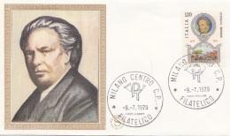 FDC    FILAGRANO -    RESPIGHI  Del   9 Luglio 1979 (40111) - 6. 1946-.. Repubblica