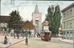 JEna - Johannistor - Tramway - Jena