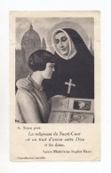 Sainte Madeleine-Sophie Barat, Joigny, Paris, Société Du Sacré-Coeur De Jésus - Images Religieuses