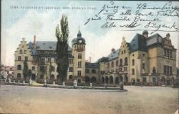 Jena - Volkshaus Mit Lesehalle  (Carl Zeiss Stifturg ) - Jena