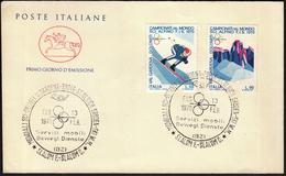 Italy St. Ulrich Groden 1970 / Ski World Championship Val Gardena / Alpine Skiing - Skiing