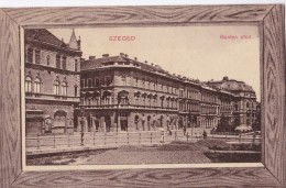 Carte 1910 SZEGED / BASTYA UTCA - Hongrie
