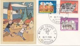 F.D.C. - FILAGRANO 1980 -  Giornata Del Francobollo (40111) - 6. 1946-.. Repubblica
