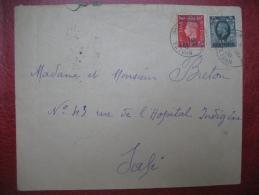 Lettre Maroc Anglais Obl. Tetuan 1938 Pour Safi Maroc - Morocco (1891-1956)