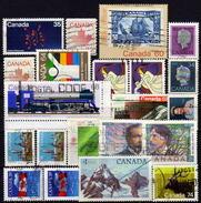 KANADA 1980 - 1989  Lot 20 Verschiedene Used - 1952-.... Elizabeth II