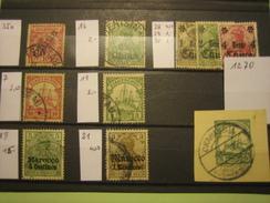 127 0Dt.Reich-Kolonien, Lot,  Gestempelt, Mi€ 30,00, Siehe Abbildung, Kein Porto, Nur PayPal - Germany