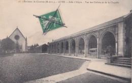 Carte 1910 LEVES / ASILE D'ALIGRE / VUE DES CLOITRES ET DE LA CHAPELLE - Lèves