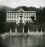 Italie Lac De Come Tremezzo Villa Carlotta Ancienne Photo Stereo 1900 - Stereoscopic