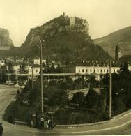 Italie Trentino Arco Tyrol Du Sud Ancienne Photo Stereo Photochrom 1908 - Stereoscopic
