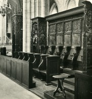 France Paris Basilique De Saint Denis Choeur Ancienne Photo Stereo NPG 1900 - Stereoscopic