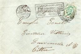 1927  LETTERA CON ANNULLO FIRENZE + TARGHETTA - Storia Postale