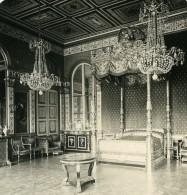 France Compiegne Château Chambre Des Impératrices Ancienne Photo Stereo NPG 1900 - Stereoscopic