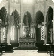 France Paris Basilique De Saint Denis Choeur De L'Abside Ancienne Photo Stereo NPG 1900