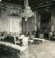 France Compiegne Chateau Salon Des Dames D'Honneur Ancienne Photo Stereo NPG 1900 - Stereoscopic
