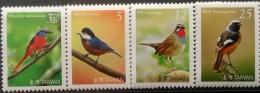 Taiwan, 2007, Birds, MNH